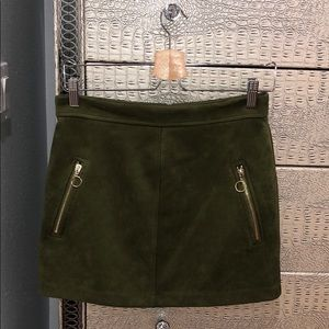 Forever 21 skirt, silky beautiful green skirt